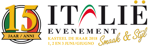 15 jaar Italie Evenement 2018