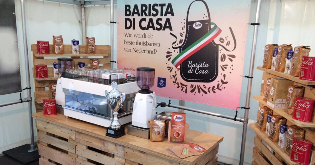 Barista di Casa Workstation