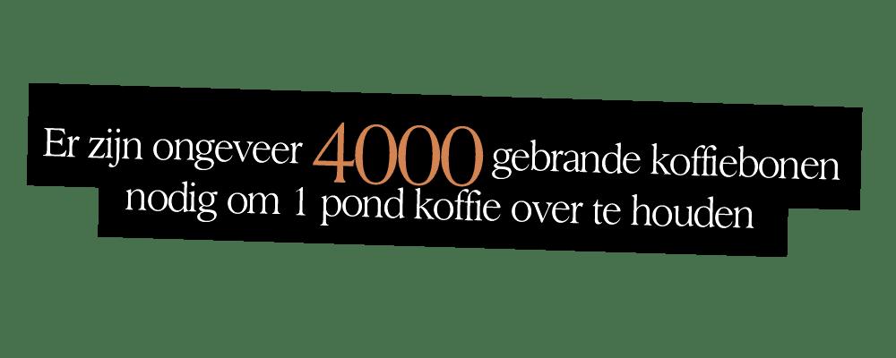 4000 gebrande koffiebonen | Undici Ore | Segafredo Magazine