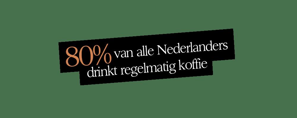 80 procent drinkt koffie | Undici Ore | Segafredo Magazine