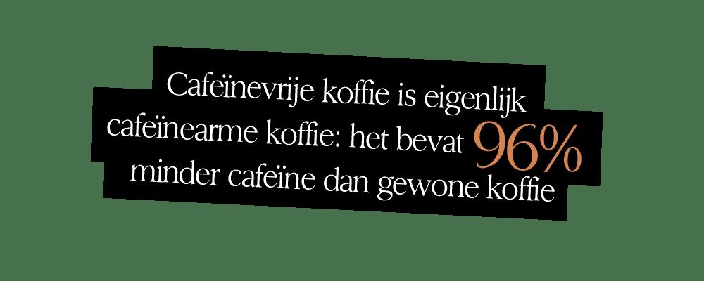 caffeine vrije koffie | Undici Ore | Segafredo Magazine